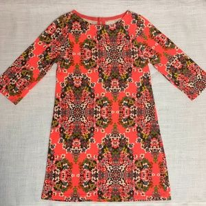 CREWCUTS 5 Bright Mosaic Print Shift Dress